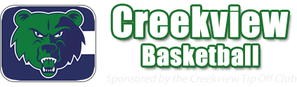 Creekview Grizzlies Basketball Logo
